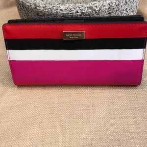 Kate Spade New York Long striped wallet